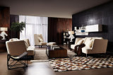 Sofá secional da tela elegante moderna nova da sala de visitas do projeto 2016 (HC8130)