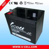 12V80ah/20hr batería de almacenaje de plomo sellada gel del AGM SLA