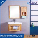 現代新しい卸し売り純木の壁の浴室の虚栄心