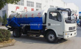 6000 L 청결한 및 진공 흡입 트럭