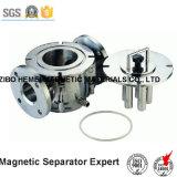 De vloeibare Separator van het Type van Pijpleiding Permanente Magnetische voor de Vloeistof van het Voedsel, het Maken van het Document