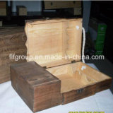 宝石類の記憶のためのカスタマイズされた美しく贅沢な木のギフト用の箱