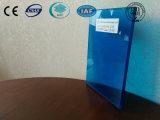 Синее прокатанное стекло с Ce, ISO