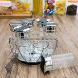 Бутылка фабрики покрашенная оптовой продажей прозрачная ясная стеклянная (100005)