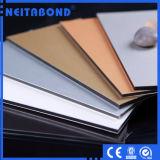 2016 el panel de aluminio exterior modificado para requisitos particulares de moda, el panel compuesto de aluminio