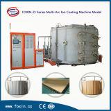 Máquina inoxidable de la vacuometalización de la hoja de acero