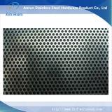 Feuille repérée d'acier inoxydable comme pièce de filtre