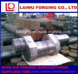 Горячая объемная штамповка тяжелого стального кривошина вковки открытая