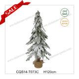 Métier d'intérieur de Noël de pointeau de pin artificiel le meilleur marché de H120cm