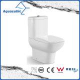 Toilette en céramique de cabinet monopièce de Siphonic de salle de bains (AT2099)