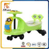 Carro barato do balanço do bebê com o material plástico feito em China para a venda