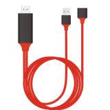 2 in 1 USB al cavo di HDMI per l'IOS ed il Android