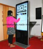 42 rede LCD da polegada 3G WiFi que anuncia o indicador do toque