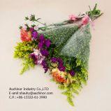 Sac de fleurs en plastique transparent de haute qualité Sac à emballage en fleurs fraîches