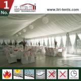 Роскошное шатёр венчания с стеклянной стеной для венчаний и партий