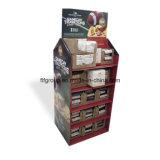 Großhandelspapierbildschirmanzeige-Zahnstangen-Papier-Schaukarton-Papier-Ausstellungsstand