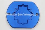 L'OEM assiste i pezzi meccanici di CNC di alta precisione con la parte di alluminio d'anodizzazione blu