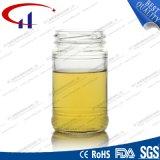 vaso di vetro della radura calda di vendita 200ml per miele (CHJ8012)