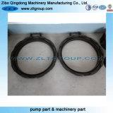 De aangepaste Ring van het Roestvrij staal voor Verwerking die Deel met Poling machinaal bewerkt zandstraalt
