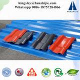 ASA Met een laag bedekte Tegel PVC+ASA van het Dak van de Hars van de Tegel van het Dak Synthetische