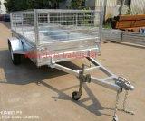 中国はボックストレーラーTr0307に電流を通した