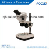 Hoher Mikroskop-China-Lieferant der Auflösung-0.68-4.6X aus optischen Fasern