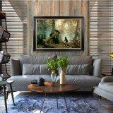 Красивейшая пуща носит картину маслом места на конструкции холстины новой