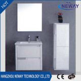 Moderne weiße Pcv Badezimmer-Schrank-Möbel mit seitlichem Schrank