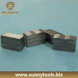 Het Segment van de diamant, het Scherpe Segment van het Graniet, Segment van het Blad van het Graniet het Scherpe