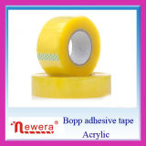 강한 Stickness 황색을 띠는 색깔 BOPP 자동 접착 테이프
