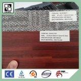 Décoration du vinyle texturisé de PVC parquetant l'utilisation d'intérieur
