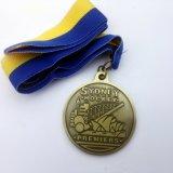 Kundenspezifische Sport-Medaille, weiche Decklack-Fußball-Preise