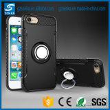 360 Huaweiの仲間9のための回転指リングのホールダーの携帯電話の裏表紙のケース