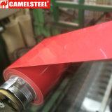 0.18-0.8mm ont laminé à froid la bobine en acier galvanisée enduite par couleur