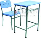 Schule Furniture Hot Sale Student Desk mit Attach Chair