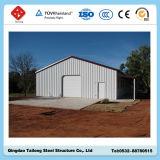 牛挿入工業鉄骨フレームの構造の小屋
