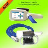 Dispositivo casero gordo H2002b de la máquina de congelación de la tecnología fresca del RF Cryolipolysis Cryotherapy de la cavitación del laser de Lipo