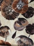 tissu de l'impression 100%Polyester pour le tissu de sofa de sofa/velours d'impression
