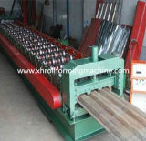 Pain en acier galvanisé populaire de plate-forme de plancher de panneau formant la machine