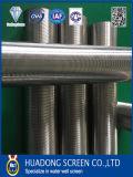 Tipo filtro per pozzi del Johnson dell'acciaio inossidabile 316 dell'acqua