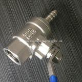 Шариковый клапан шарикового клапана трубы газа CF8 2PC