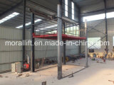 4 kolom Hydraulic Car Lift met Ce Certificated voor Sale