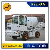 Собственная личность Silon 4WD нагружая тележку конкретного смесителя с лопаткоулавливателем передней загрузкы 270L (SL1.7R)
