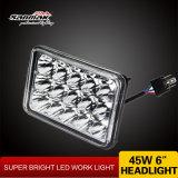 15 indicatore luminoso di azionamento sigillato fascio del faro LED del LED Hi/Low (SM6053-45W)