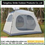 Barraca de acampamento quadrada moderna da família camuflar do mercado impermeável de 4 pessoas