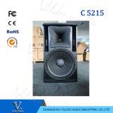 Correcte Doos van de Spreker Rcfstyle de Enige Dubbele 15inch van C2515 C5215 PRO Audio