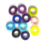 Faixas plásticas de borracha do cabelo do cabo de telefone