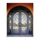 錬鉄の外部ドアの優雅なデザイン