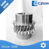 No estándar engranaje helicoidal del engranaje de transmisión a medida para distintos dispositivos