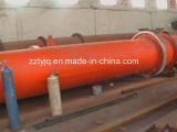 Essiccatore indiretto di scambio di calore della soia dell'essiccatore rotativo del residuo da vendere